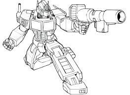 Transformers Coloring Pages Optimus Prime Megatron Printable Transformer 4 Bumblebee