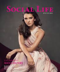 The Suite Life On Deck Cast Maya by Social Life July 2016 Maya Henry By Social Life Magazine Issuu