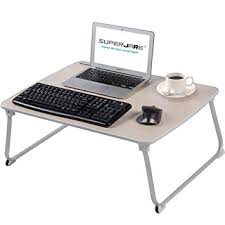 Amazon EXTRA LARGE Bed Table for Laptop Superjare Drawing