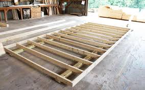 Floor Joist Spacing Shed by How We Build Your Shed Mini Barns Storage Sheds Garages
