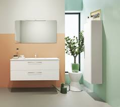 badezimmermöbel set e noida 2 teilig inkl waschtisch waschbecken farbe beige weiß glänzend