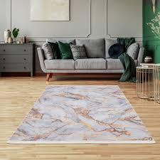 siela waschbare teppich wohnzimmer schlafzimmer küche hochwertig rutschfest versch größen weiß