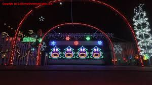 Clovis Christmas Tree Lane Hours by Best Christmas Lights And Holiday Displays In Modesto Stanislaus