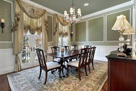 Formal Curtains Dining Rooms Room Window Glamorous Drapes Ideas