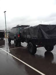 100 Bug Out Trucks 4 Wheel Drive Van And Bug Out Trailer Vehicles Pinterest