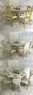 Golden Stainless Steel Dining Table And Chair For Wedding Event, View  Golden Dining Table And Chair, Sidixuan Product Details From Foshan  Hardware ... Supply Yichun Hotel Banquet Table And Chair Restaurant Round Wedding Reception Dinner Setting With Flower 2017 New Design Wedding Ding Stainless Steel Aaa Rents Event Services Party Rentals Fniture Hire Company In Melbourne Mux Events Table Chairs Ceremony Stock Photo And Chair Covers Cross Back Wood Chairs Decorations Tables Unforgettable Blank Page Cheap Ohio Decorated Redwhite Flowers 23 Beautiful Banquetstyle For Your Reception
