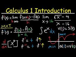 Calculus 1 Introduction Basic Review Limits Continuity Derivatives Integration IB AP AB