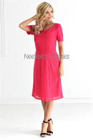 pink cute modst dress modest bridesmaids dresses with