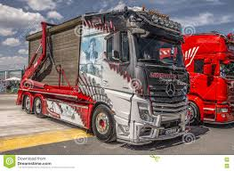 100 Master Truck MercedesBenz Actros 2551 Editorial Image Image Of Involving