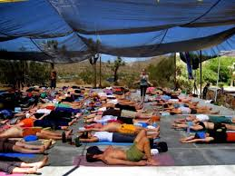 Outdoor Yoga Pad Wonderful Space For Exercise Lectures Or Meditation