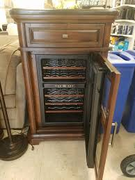 Tresanti Wine Cabinet With 24 Bottle Cooler by Tresanti Sonora 24 Bottle Wine Cooler With Granite Top Furniture