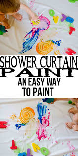 Crayola Bathtub Fingerpaint Soap Target by Shower Curtain Paint Busy Toddler