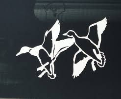 100 Duck Decals For Trucks Flying S II Truck Hunting Vinyl Decal Stickers Sticker Flare Llc