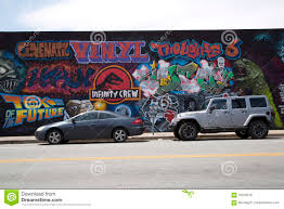 Deep Ellum Wall Murals by Colorful Graffiti On The Wall Editorial Stock Photo Image 70759018