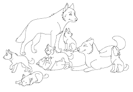 Wolf Coloring Pages Free Printable Pictures For