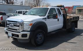 100 F450 Truck 2011 Ford Super Duty SuperCab Flatbed Truck Item DF36