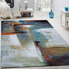 designer carpet mottled in beige brown grey