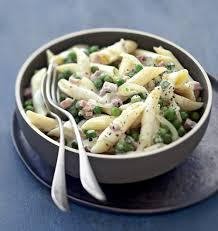 cuisine italienne recette recette penne piselli