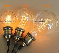aliexpress buy g125 40 60w e27 220 240v antique edison bulb