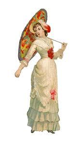 Victorian Clipart Vintage Fashion 2