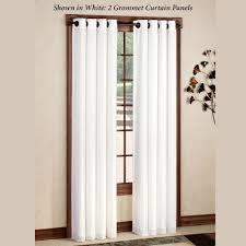 Curtain Rod Grommet Kit by Rhapsody Thermavoile Tm Grommet Curtain Panels