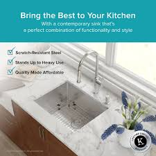 Bathroom Sink Not Draining Fast Enough by Stainless Steel Kitchen Sinks Kraususa Com
