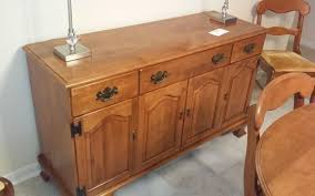 Solid Maple Dining Room Buffet Ethan Allen