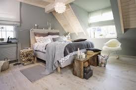 ein gemütliches schlafzimmer im skandinavischen stil der
