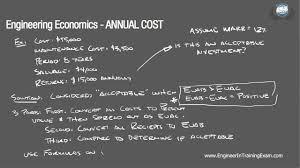 Define Annual Sinking Fund by Annual Cost Fundamentals Of Engineering Economics Youtube