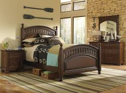 Chateau Dax Jackson Leather Sofa by Samuel Lawrence Furniture Expedition 4 Piece Poster Bedroom Set In