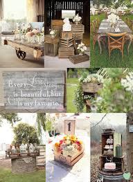 Rustic Wood Wedding Decor Mood Board