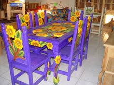Sunflower Mexican Dining Table