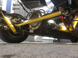 Painted Suspension Components: Shocks, Panhard Bar, Overload Leaf ...