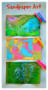 3 Simple And Engaging Ways To Create Beautiful Art With Sandpaper Easy Kids