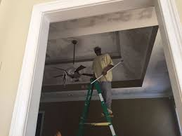 Scrape Popcorn Ceiling Dry by Scraping A Popcorn Ceiling How To And The Pros And Cons