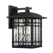 heath zenith 15 375 in h black motion activated outdoor wall light
