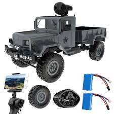100 Rc Army Trucks Amazoncom Remokids RC Military Truck With WiFi HD Camera 116