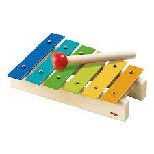 haba metallophon kinder xylophon glockenspiel instrument spielzeug 5990