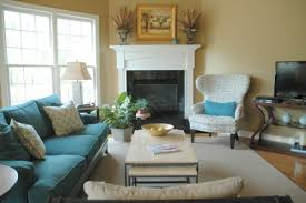 great sofa placement around corner fireplace ideas for small space