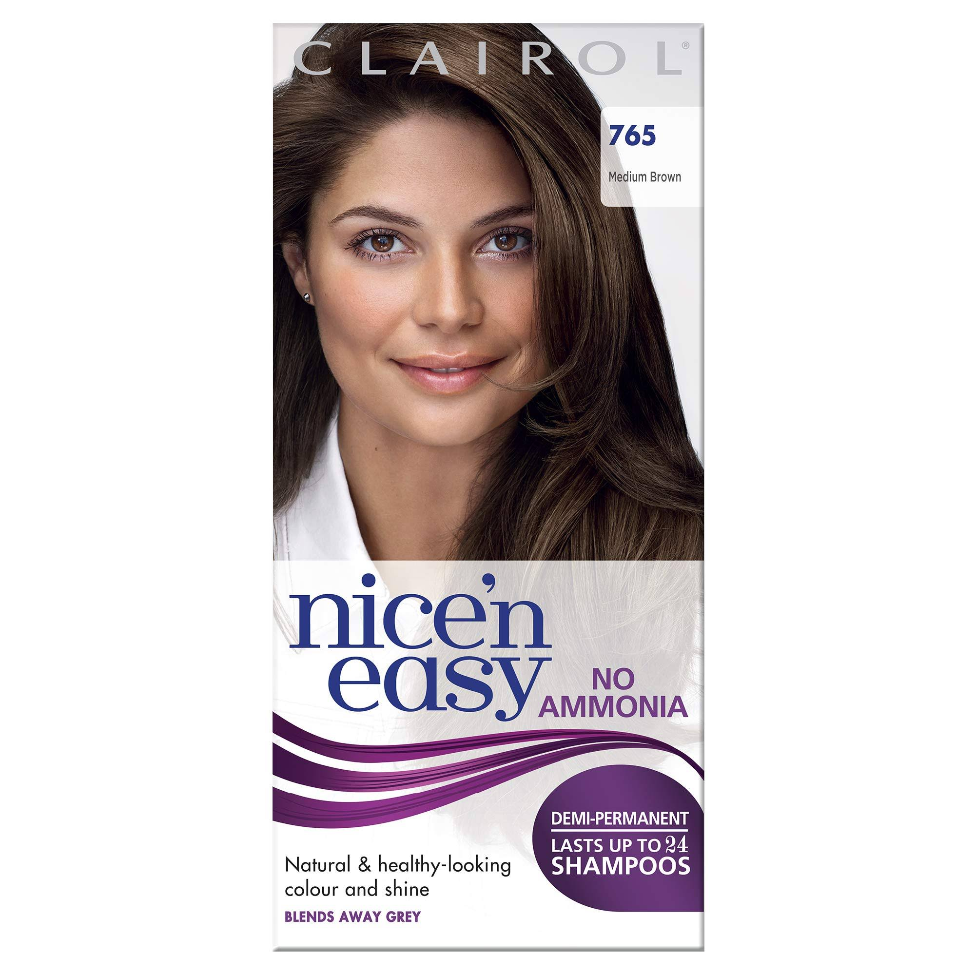 Nice'n Easy Non Permanent Hair Dye - 765 Medium Brown