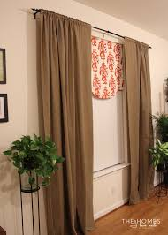 Living Room Curtain Ideas With Blinds by 8 Clever Window Treatment Solutions For Renters The Homes I