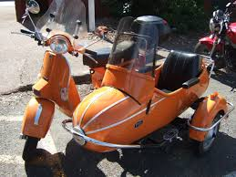 Toms Vespa Side Car From Seattle