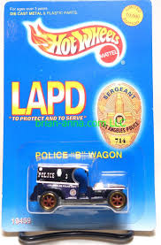 100 Paddy Wagon Food Truck Hot Wheels LAPD