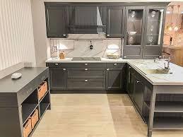 häcker bristol graphit landhausküche in graphit ohne geräte