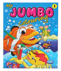Cool Design Jumbo Coloring Books Navneet My Book Online In India Buy At Best Price