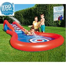 Amazon Inflatable Pool Slide For Inground Pool For Kids Colored