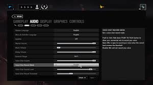 siege audio console how to enable voice in tc rainbow six siege