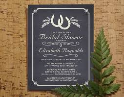 Country Horseshoe Bridal Invitations Shower Wedding Party Invites Printable Digital PDF DIY Template Printed