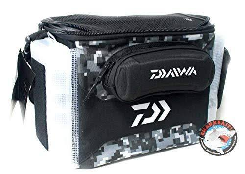 Daiwa DJTB-60CBO D-Vec Jig Tote Combo Bag with 60 Sz Storage Case, Tactical Grey