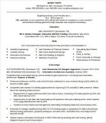 Ux Designer Resume Examples 43 Recent 8 Free Word Pdf Documents Download Of